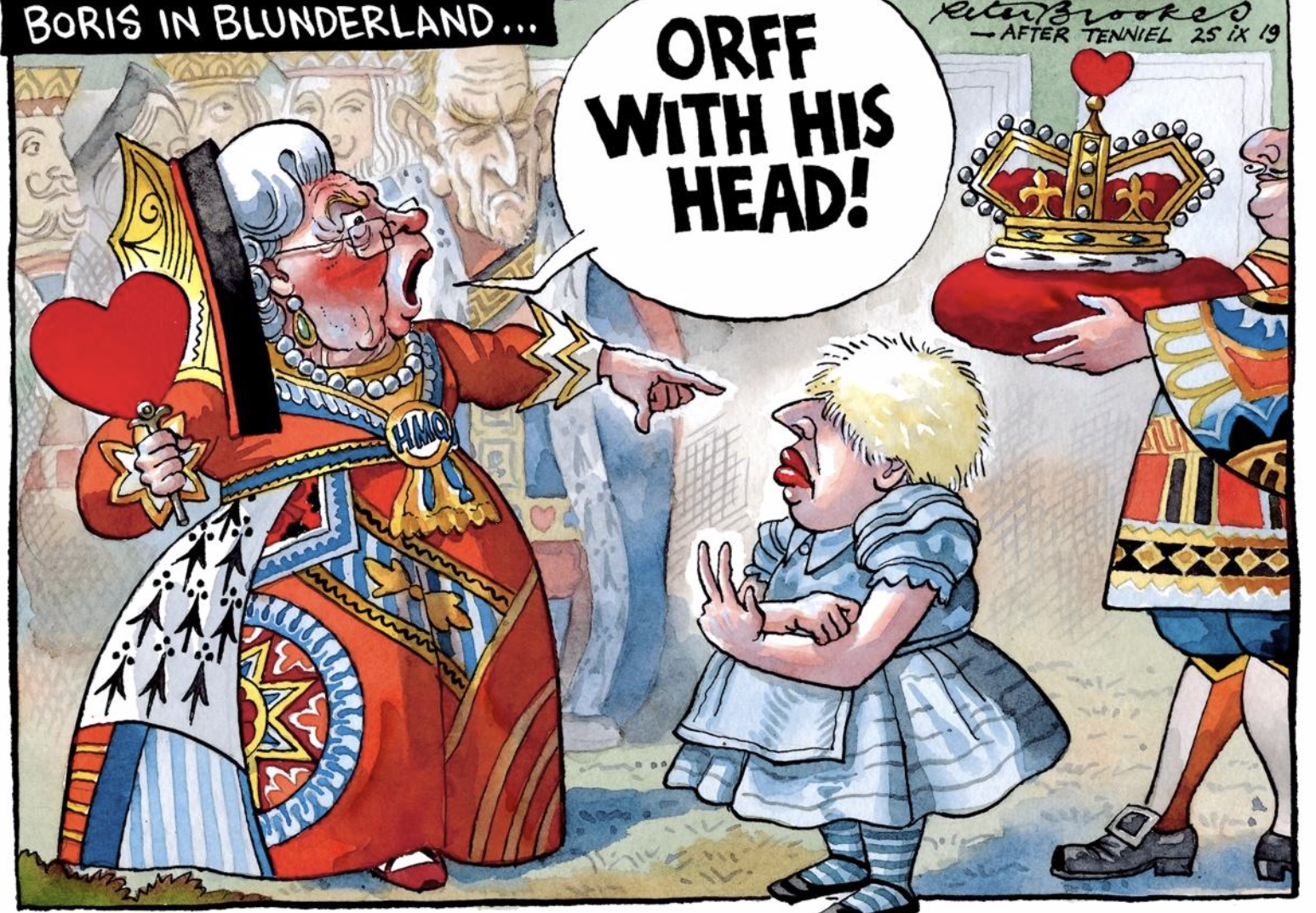 Boris in Blunderland